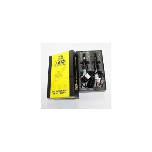 TACPRO LED Headlight S7 H4 H7 H11 Bulb Car Light Copper Belt Cooling