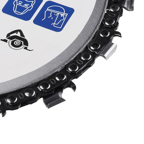 4Inch Grinder Chain Disc 22 Tooth Cut Chain Set Wood Carving Discs For 115
