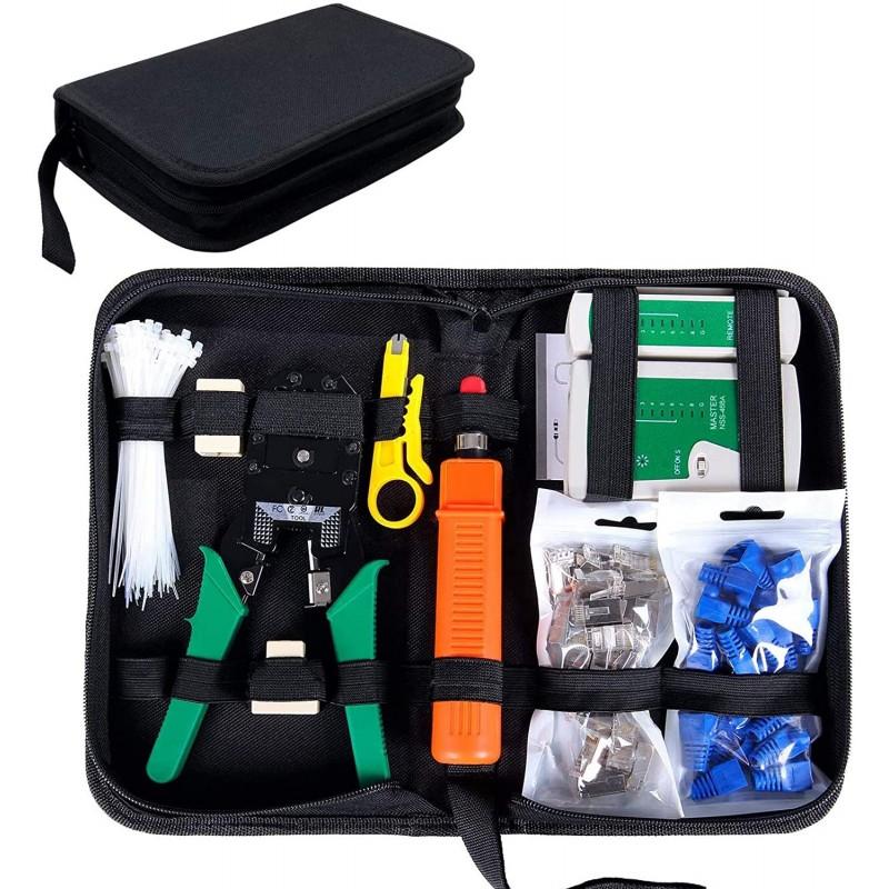 Network Tool Kit for Cat5/5e, Black