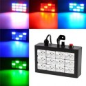 12 pcs full-color RGB LED strobe light bar laser light stage lighting