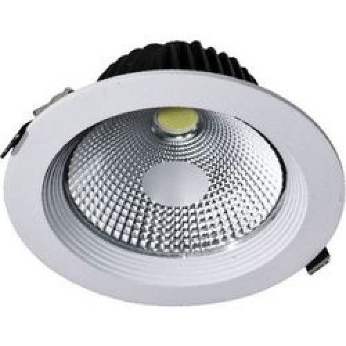 40W 85-265V LED Recessed COB Ceiling Down Lights Bathroom Kitchen Spot Lighting
