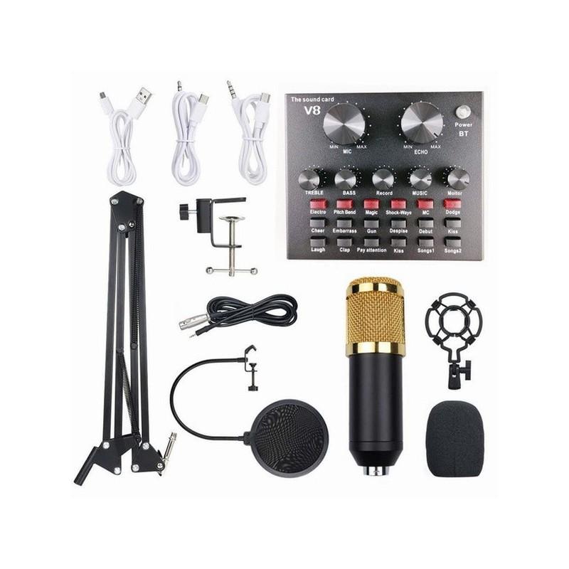 BM800 Kit With V8 ΜΙΚΡΟΦΩΝΑ