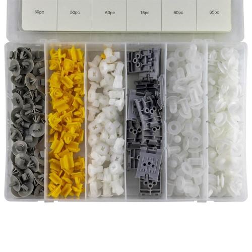 PLASTIC CLIPS SET FOR RENAULT 300 PCS