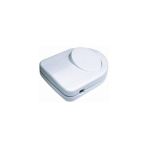 ON-OFF FOOT SWITCH 250V/2.0A WHITE SCREW