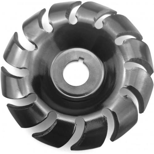 Kecheer Wood Carving Disc, Manganese Steel, 90 mm, 12 Teeth Wood Carving Disc