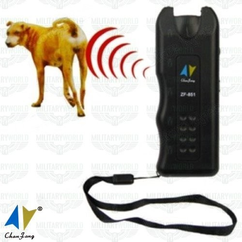 Super Ultrasonic Dog Chaser repellent for aggressive 130dB ultrasound dogs