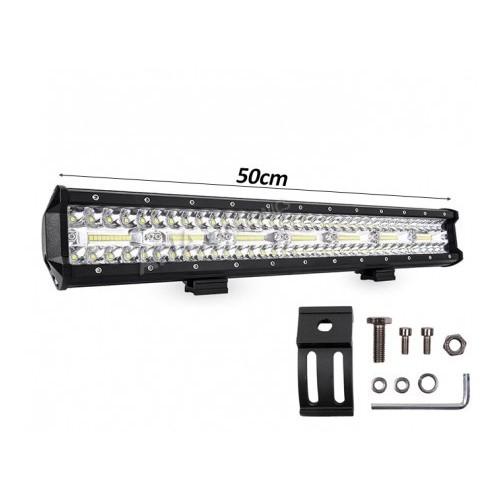 20Inch 420W Tri Row LED Work Light Bars Combo Beam IP68