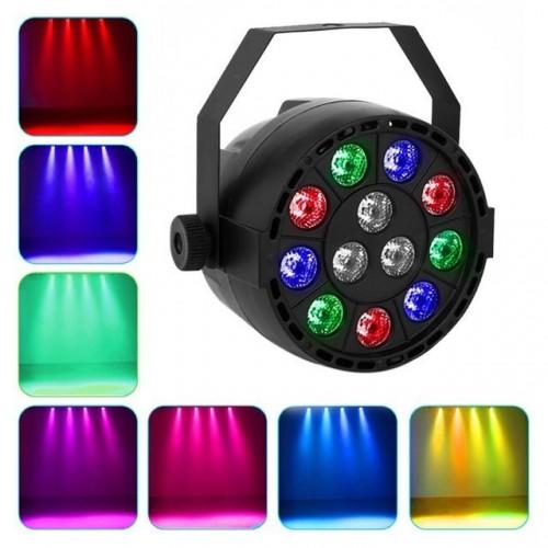 12 Led Par Stage Light Led Rgbw 8 Dmx Dream Colour Wide Use For Club Dj Show Home Party Ballroom Bands