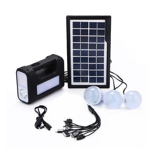 GDLITE GD-8017 Plus Solar Lighting System Kit