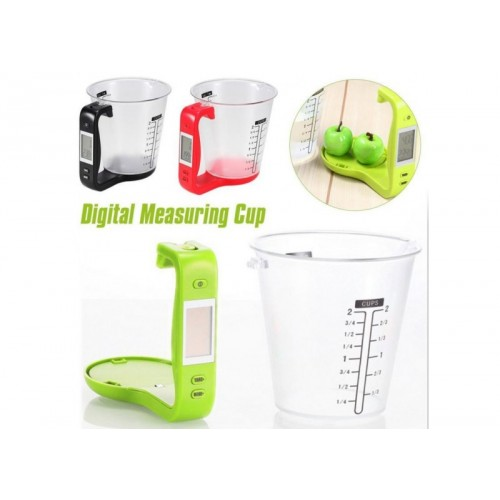 Digital Measuring Cup Scale Electronic Home Kitchen Bar Scales Weigh