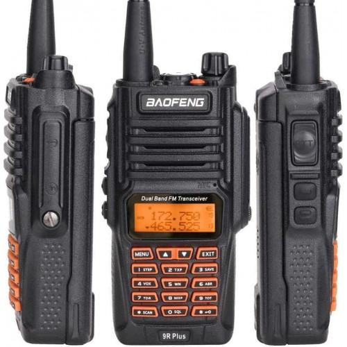 UV-9R Plus 10W Upgrade Version Two Way Radio VHF UHF Walkie Talkie for CB Ham