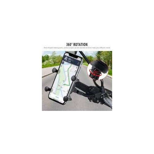Phone Holder Universal Motorcycle Motorbike Mobile Phone Holder Mount X