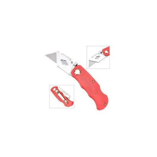 Folding Lock Back Utility Knife Box Cutter Clip