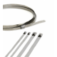 Stainless Steel Uncoated Ball Lock Cable Tie