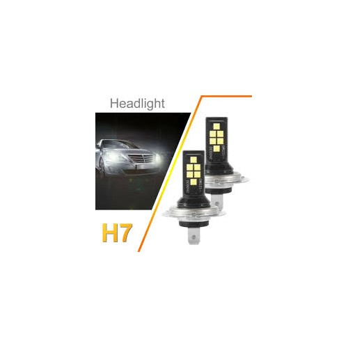 H7 SHOW LED SET H7 LED 6000K ΓΙΑ SHOW ΖΕΥΓΟΣ