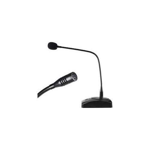 Black Unique Pro Rider Professional Meeting Microphon