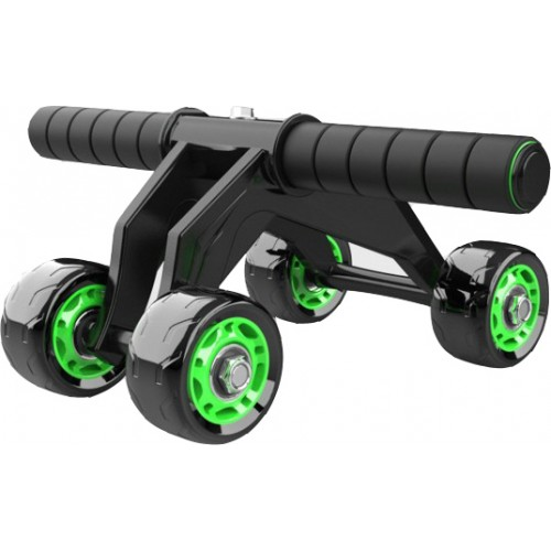 KALOAD 4 Wheel ABS Roller Wheel Sports Fitness Gym Exercise Stretch Wasit