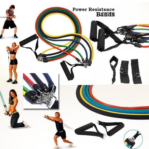 Set of 5 Power Resistance Bands