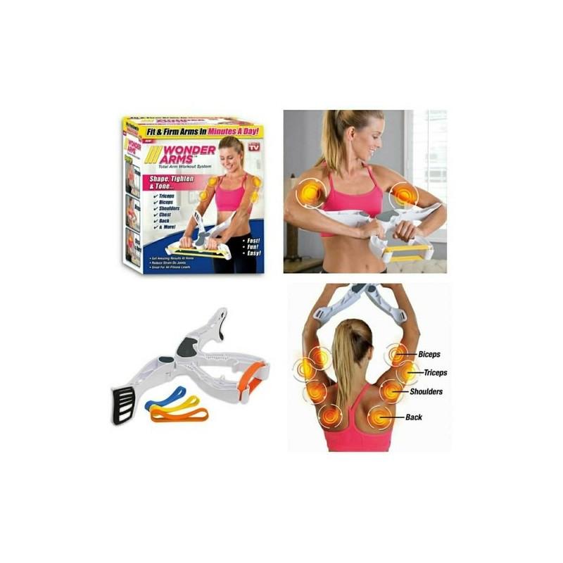 Wonder Arms Total Workout System Resistance Training Bands
