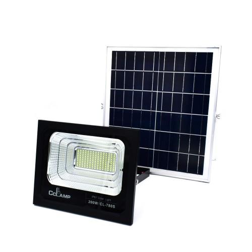 Solar Flood Lights Outdoor,200W,BSOD Spotlight IP66 Waterproof with Remote Controller,