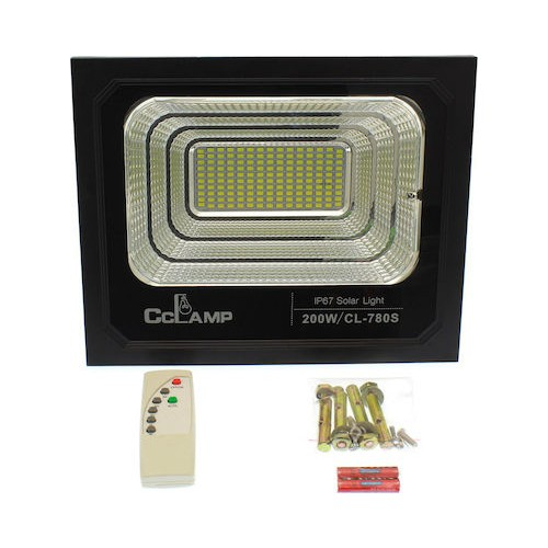 200 Warts Solar Floodlight
