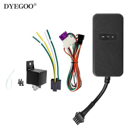 DYEGOO factory cheap price mini waterproof GPS car tracker GT003 for heavy truck vehicle gps tracker