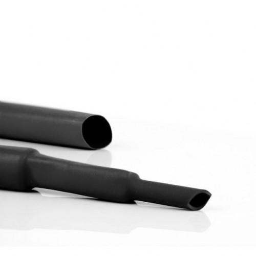 HEAT SHRINK TUBING 3.2/1.6mm BLACK (-55+135°C) W/R