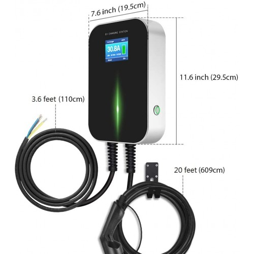 Wallbox EV Charger Electric Vehicle Charging Station Type 2 Socket IEC 62196-2 22KW for Audi for Volkswagen