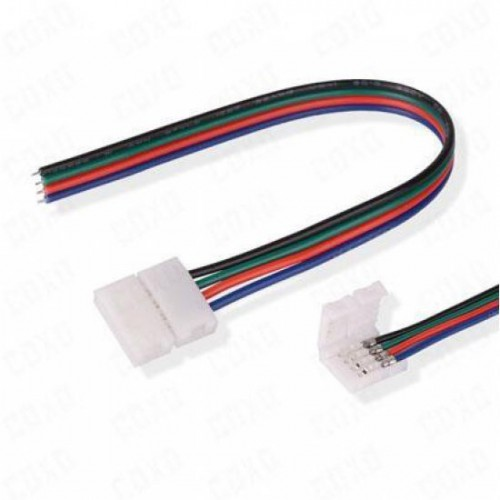 LED STRIP ACCESSORIES CONNECTOR FOR 5050 RGB TO CONTROLLER