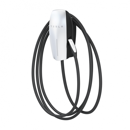 Tesla EU Silver Wall, convenient home charging solution