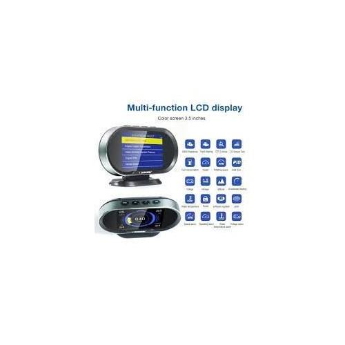 KONNWEI KW206 HUD OBD2 Car Diagnostic Scanner On-Board Computer Gauge