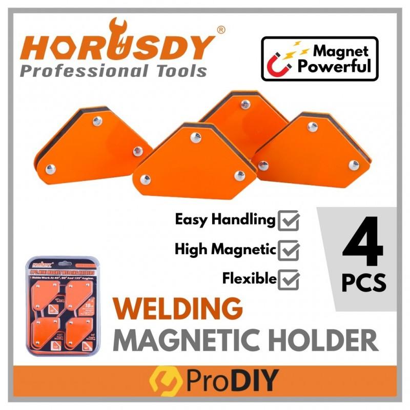 HORUSDY SDY-97823 4Pcs 10LB Mini Welding Magnet Holder Magnetic
