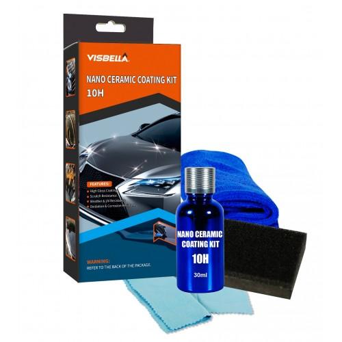 Visbella Professional Nano Ceramic Coating Kit 10H With Hydrophobic