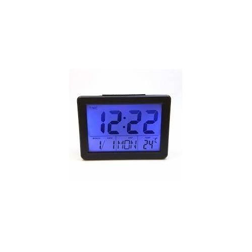 Ψηφιακό Ρολόι Επιτραπέζιο με Ξυπνητήρι DS2619 Μαύρο Ψηφιακό Ρολόι Επιτραπέζιο με Ξυπνητήρι DS2619 Μαύρο