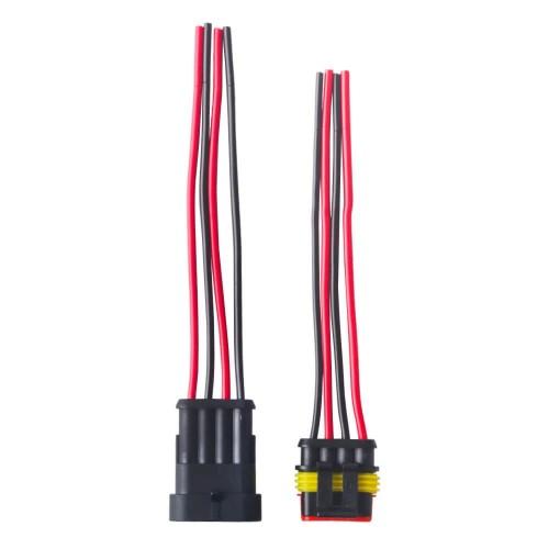 Sets 4 Pin Car Plug Connectors Set