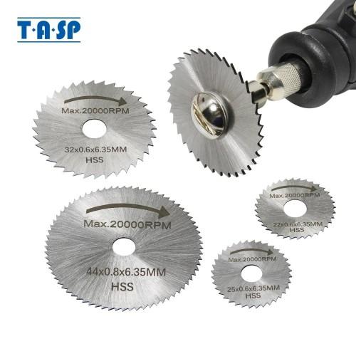 6pcs Mini Circular Saw Blade Set HSS Cutting Disc Rotary Tool Accessories for Dremel