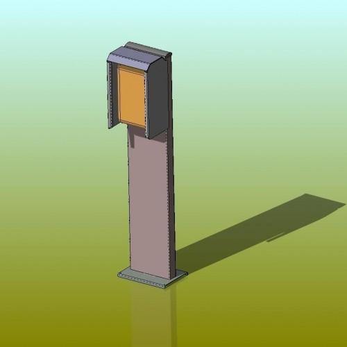 Pedestal ΒΑΣΗ ΣΤΑΘΜΟΥ ΦΟΡΤΙΣΗΣ ΗΛΕΚΤΡΙΚΟΥ ΑΥΤΟΚΙΝΗΤΟΥ