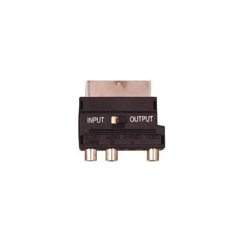 scart adapter for converting
