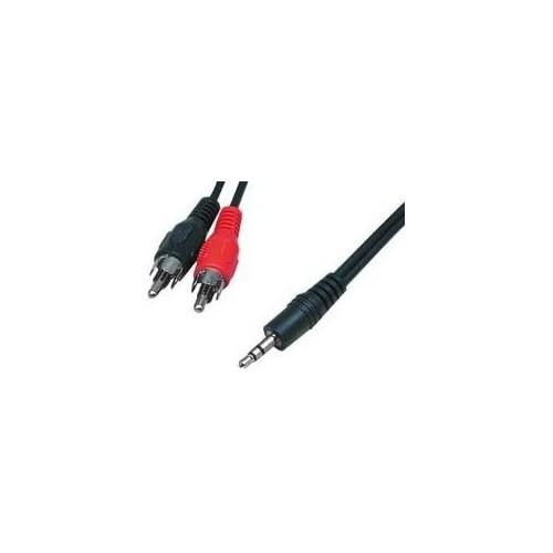 ΑΠΛΟ 2 Χ RCA ΑΡΣ - 3.5mm ΑΡΣ 2.5M