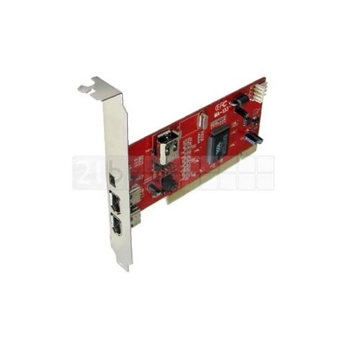 PCI CARD FIREWIRE 3+1 PORT