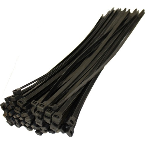 Cable Ties, 100 St. 310 x 4,8 mm, UL-app, black