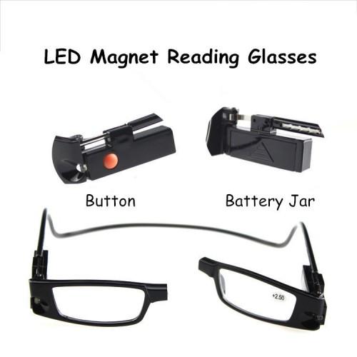 LED MAGNETIC GLASSES ΜΕΓΕΝΘΥΤΙΚΟΙ ΦΑΚΟΙ