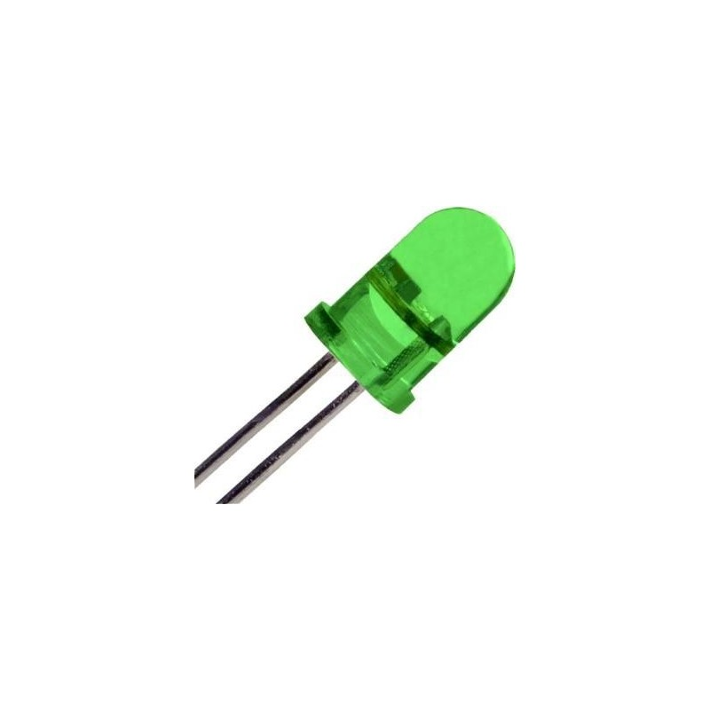 LED 5mm GREEN ΓΕΦΥΡΕΣ - ΔΙΟΔΟΙ
