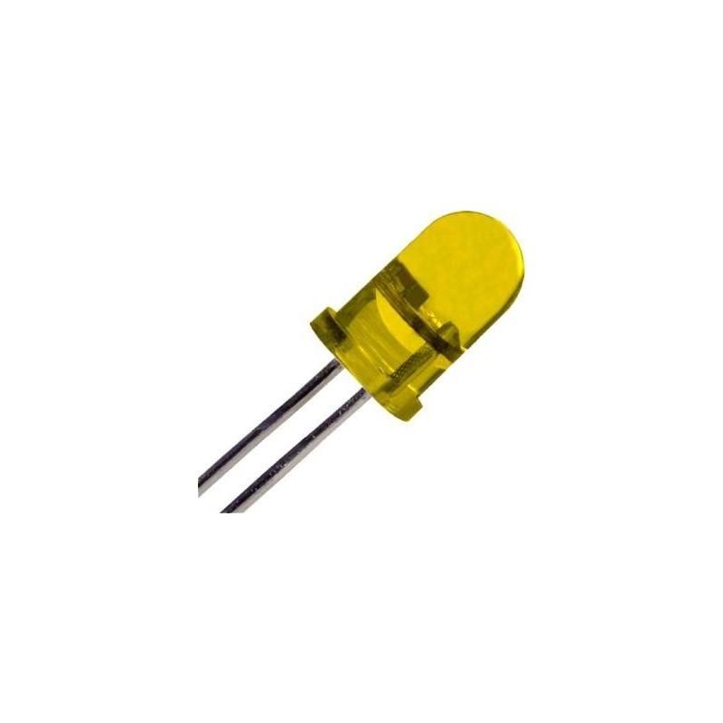 LED 5mm YELLOW ΓΕΦΥΡΕΣ - ΔΙΟΔΟΙ