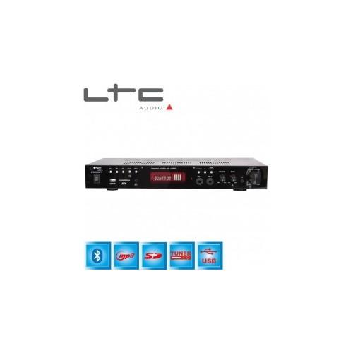 ATM6000BT, HiFi стерео усилвател, 2 x 50 W, bluetooth, USB, SD, MP3, FM