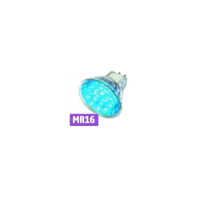 09MR16LED B LED LAMP MR16 BLUE