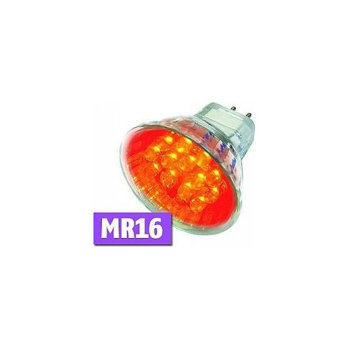 LED LAMP MR16 RED