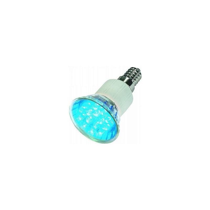 09E14LED B LED LAMP E14 BLUE