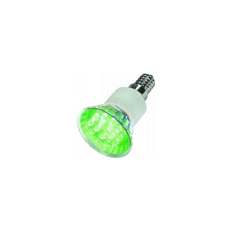 LED LAMP E14 GREEN