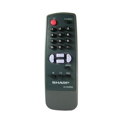 TV CONTROL SHARP 1059
